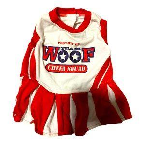 4-$25 Bundle and Save Small Dog Cheerleader Dress